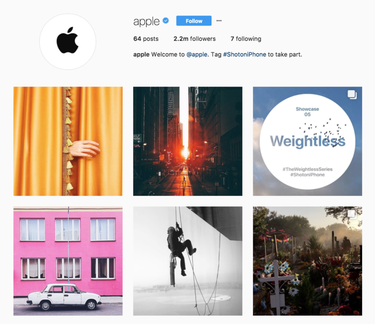 apple-instagram User-Generated Content: Why Your Brand Needs To Leverage It Now