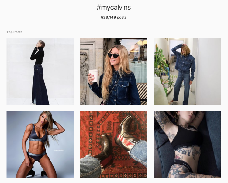 my-calvins-instagram User-Generated Content: Why Your Brand Needs To Leverage It Now