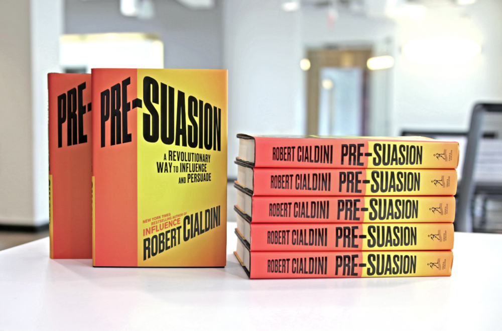 pre-suasion-Dr-Robert-Cialdini High Season