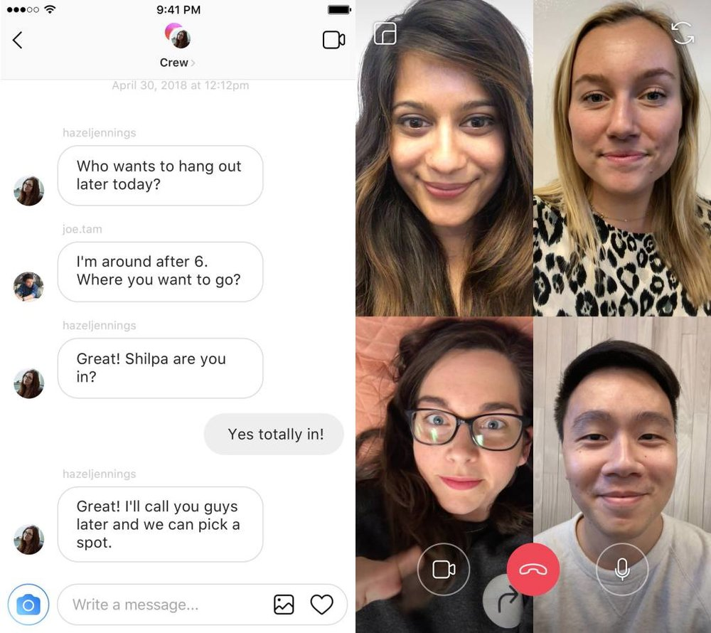 videochat-instagram-f8 8 Major Updates You Need To Know From Facebook's 2018 F8 Conference